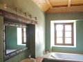 Bathroom in green Tadelakt KREIDEZEIT