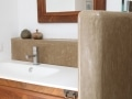 Tadelakt KREIDEZEIT aplicado en un cuarto de baño
