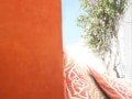 Tadelakt KREIDEZEIT cor laranja em Portugal