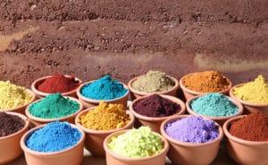 pigmentos embarro